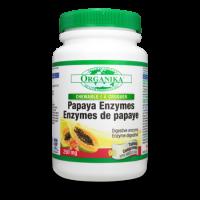 加拿大Organika  咀嚼型木瓜酶片剂 90片装