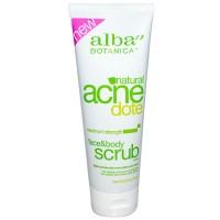 Alba AcneDote 天然抗暗疮脸部和身体磨砂 - 无油(227 g)