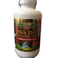 Gold Vitamins 阿拉斯加浓缩鱼油 (300粒)