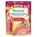 亨氏 婴儿小麦与燕麦糊 - 含香蕉、山莓- 3段